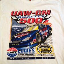 Collectible UAW-GM 500 Inaugural Nextel Cup NASCAR XL Shirt from Lowe's Corp HQs