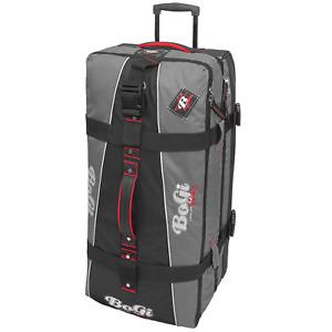 Reisetrolley Reisetasche Taschentrolley Koffer BoGi Bag Schwarz 110L B-Ware
