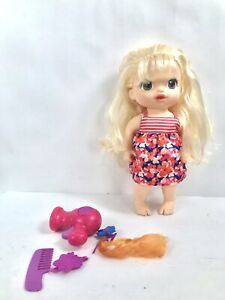 PREOWNED Baby Alive Cute Hairstyles Baby Blonde Includes Doll with Accessories