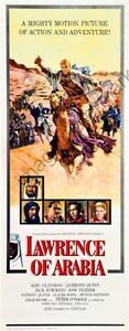 Lawrence Of Arabia Movie Poster Insert #01 Replica