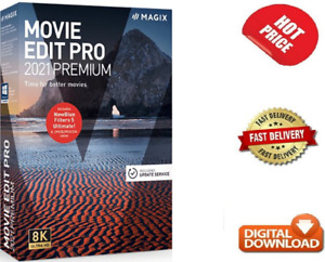 MAGIX Movie Edit Pro 2021 Premium ✅ Latest And Full Version ✅Lifetime Activation