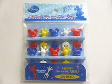 NEW!! Disney Mickey Mouse Food Fork Picks Bento Accessories FREE SHIPPING