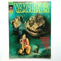 VAMPIRELLA Magazine #29 (Warren, Nov 1973) Cover art by Enrich Torres