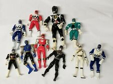 Vintage Mighty Morphine Power Rangers Action Figure Lot 1990s 2000s 10 figures