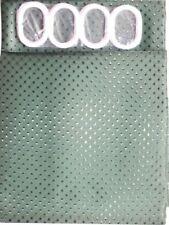 Rideaux de douche vert en tissu