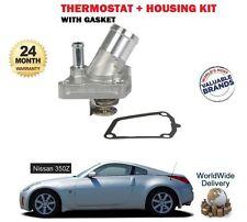per Nissan 350Z Z33 3.5 VQ35DE 2003-2007 NUOVO KIT TERMOSTATO+GUARNIZIONE