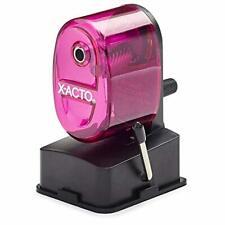 X Acto 1178 Bulldog Vacuum Mount Manual Pencil Sharpener Assorted Translucent