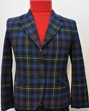 PENDLETON Woolen Mills Authentic Smith Tartan Plaid Petite Wool Skirt Suit Sz 10
