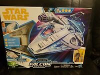 Star Wars Force Link 2.0 Kessel Run Millennium Falcon With Han Solo Sealed New
