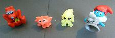 Lot 4 Figurines Jouet Ancien vrac Kinder Surprise Phospho Schtroupmf An. 90