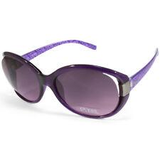 Guess GUF214 Polished Purple G Logo/Purple  Women's Sunglasses