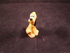 "Awesome 2.5"" Souvenir Ceramic Pluto Figure Walt Disney Japan"