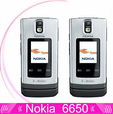 Nokia 6650F6650 fold flip 3G HSDPA 850 / 2100 Bluetooth GSM Cell Mobile Phone