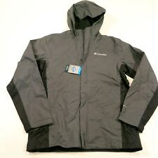 $90 Columbia Men's Timber Pointe 2 Rain Jacket Size Small NEW