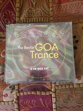 GOA 2000 The Best of GOA Trance 4 CD Box Set