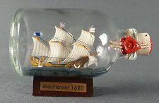 Mayflower Mini Buddelschiff 50 ml 7,2 x 4,5 cm original Flaschenschiff Handmade
