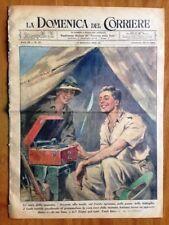 La Domenica del Corriere 13 settembre 1942 Egitto Stalingrado Caucasia