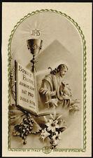 santino-holy card ediz. EB  n.R/867 BONUS PASTOR