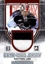 2013-14 Between the Pipes Jersey Silver #21 Payton Lee
