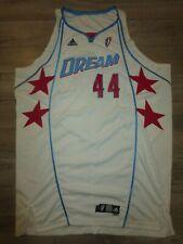 Katie Feenstra #44 Atlanta Dream 2008 WNBA adidas Game Worn Used Jersey 3XL