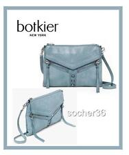 BOTKIER TRIGGER CROSSBODY BAG PURSE HANDBAG CLUTCH PALE BLUE W/DUSTBAG NWT $198