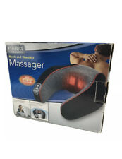 HoMedics Neck and Shoulder Travel Pillow Massager with Heat New