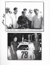SIGNED JACK COOK FACTORY K MODEL Harley Davidson #78 NON NASCAR LEGEND POSTCARD