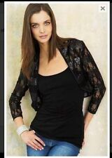 Waist Length Lace None Formal Coats & Jackets for Women