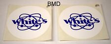 2  White's Speaker Cover Decals for White's Metal Detectors