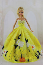 Fashion Handmade Princess Dress Wedding Clothes Gown for Barbie Doll Gifts a13