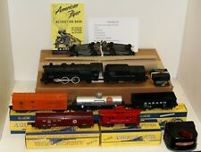 AC Gilbert American Flyer S Gauge Steam Freight Train set with full warranty