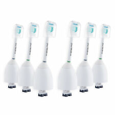 10 ESeries Heads For Philips Sonicare HX7022 Essence +/ Xtreme/ Elite/ Advance