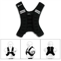 BodyRip Exercise Weighted Vest 5KG Mesh Pouch Home Gym Fitness Neoprene One Size