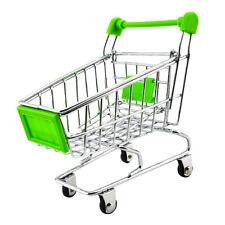 Mini Carrito De Compras Trolley finja el juego Juguete Verde