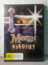 MERLIN - Mini-Series (DVD) ALMOST 3 HOURS ! Sam Neil 1998 - REGION 4