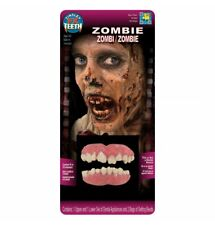 Zombie Gebiss Zähne, 2 tlg. FX Teeth  Theaterqualität Karneval Halloween
