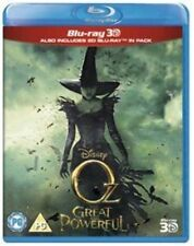 OZ THE GREAT AND POWERFUL 3D BLU RAY DISNEY 2 DISC SEALED NEW REGION FREE