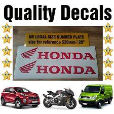 **NEW 2x Honda Sticker Decals Van Trailer Motocross Jet HO-22
