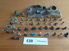E38 Micro Machines military Bundle.Tanks, Trench and figures.