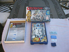 Operation Star Wars Edition Silly Skill Game 2012 Lights & Sounds Complete!