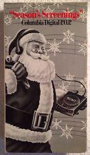 """""""Seasons Screenings"""" (Prev. Viewed VHS) RARE HTF OOP Promo Copy Christmas Songs"""