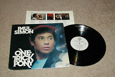 ROCK PAUL SIMON ONE TRICK PONY STERLING MASTER LP RECORD EXCELLENT