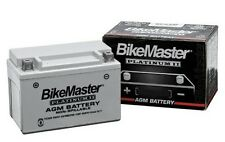 BikeMaster AGM Platimum II Sealed Battery 1997-10 Harley Davidson FLSTF Fat Boy