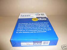 A4 bianchi di qualità laser / inkjet CARTA 160 gsm 50 fogli