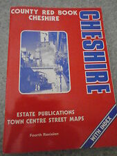 Cheshire: County Atlas by Estate Publications (Paperback, 1993)