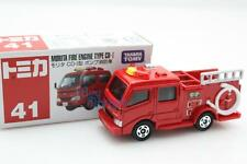 Takara Tomica Tomy #41 Morita Fire Engine CD-I Scale 1/84 Diecast Toy Car Japan