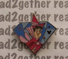 Disney Pin Dlr 2015 Hidden Mickey Diamond Characters Flora