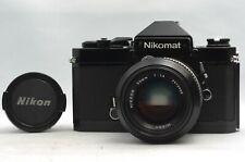 @ Ship in 24 Hours! @ Nikon Nikomat FT2 Film SLR Camera + Nikkor 50mm f1.4 Lens