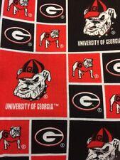 University Of Georgia Bulldogs Squares Valance