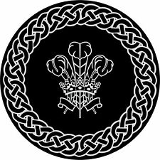 4x4 Spare Wheel Cover 4 x 4 Camper Graphic Sticker Celtic Knot Welsh Feather 114
